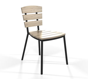 Bistro stackable chair